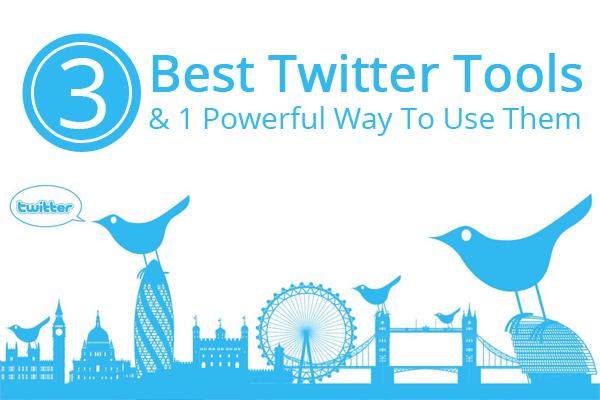 3 best twitter tools