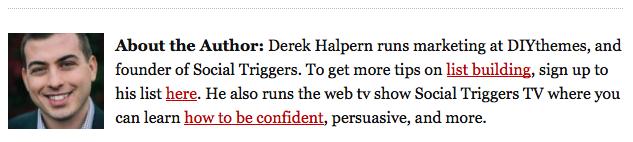 Derek Halpern's byline
