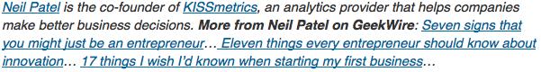 Neil Patel's byline