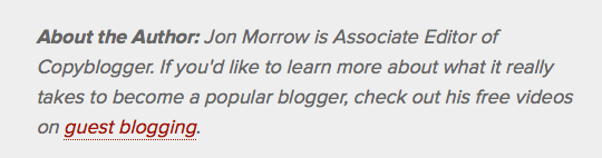 Jon Morrow's byline