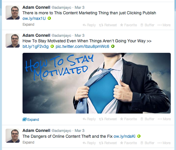adam connell using tweet pictures