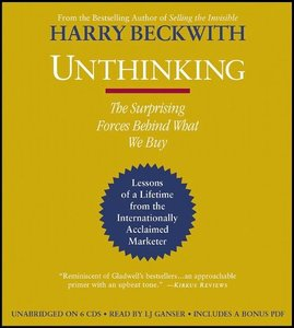 harry beckwith unthinking
