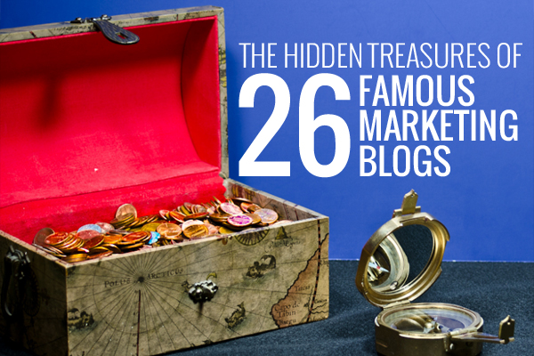 hidden treasures of famous marketing blogs